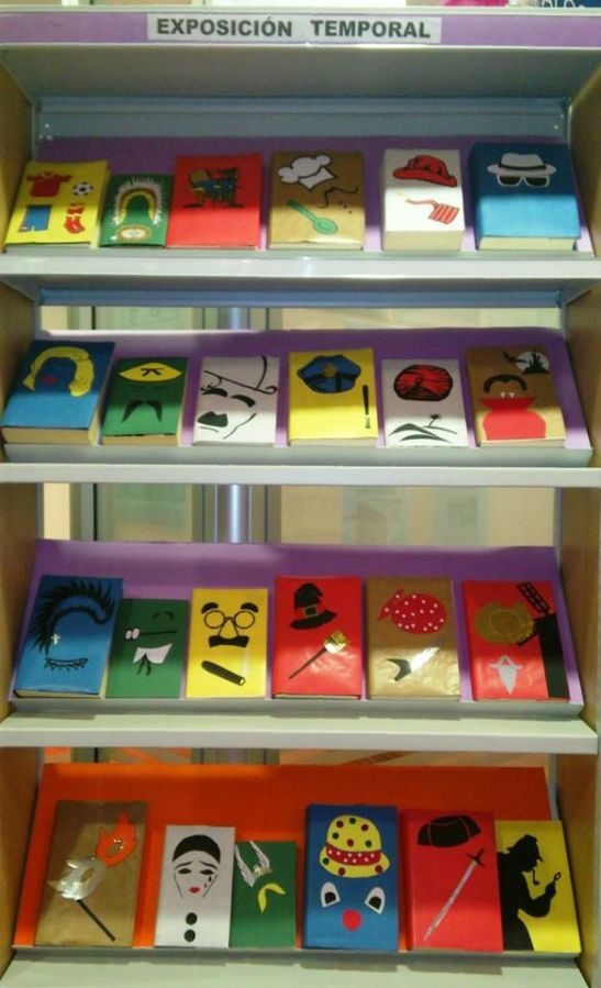 expo libros disfrazados 1