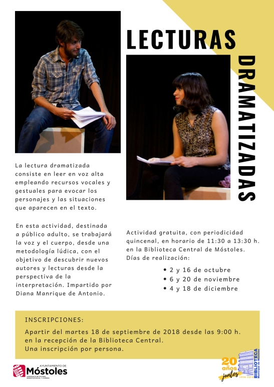 Lecturas dramatizadas 2018-2019