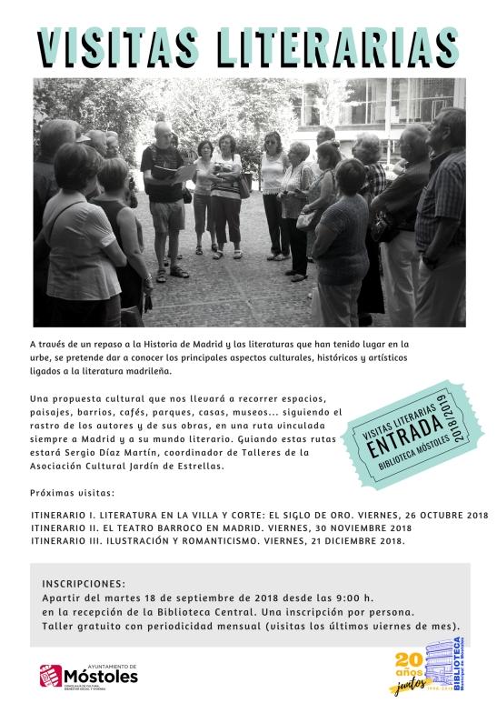 Visitas literarias 2018-2019