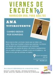 Viernesdeencuentro 2018 - Ana Titiricuento