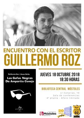 Encuentro con autor GUILLERMO ROZ