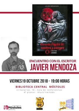 Encuentro con autor JAVIER MENDOZA