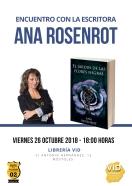 Encuentro con autora ANA RONSENROT