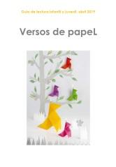 portada VERSOS DE PAPEL