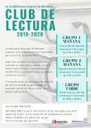 Club de lectura 2019-2020